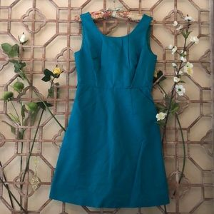 The Limited green/blue sleeveless dress